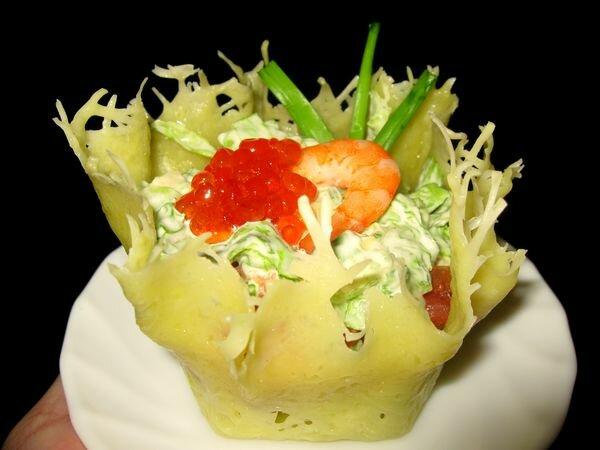 Салат сырная корзинка с фото