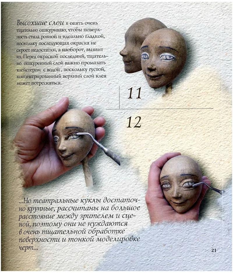 Сделать куклу из папье-маше в домашних условиях