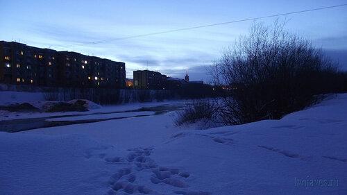 Фото города Инта №3301  Полярная 10 и 14а 04.02.2013_16:43