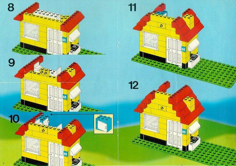 инструкция как построить дом из лего