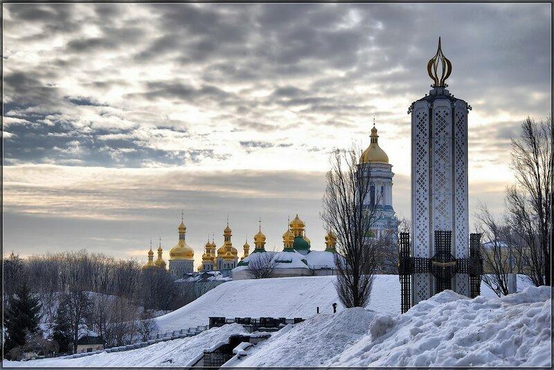 Прогуливаясь по Киеву