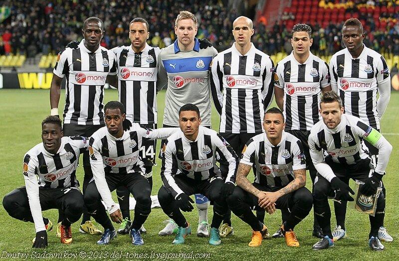 Футбол лига европы анжи ньюкасл смотреть онлайн