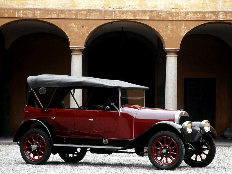 Alfa-Romeo-20-30-ES-Torpedo-1921 - 1922
