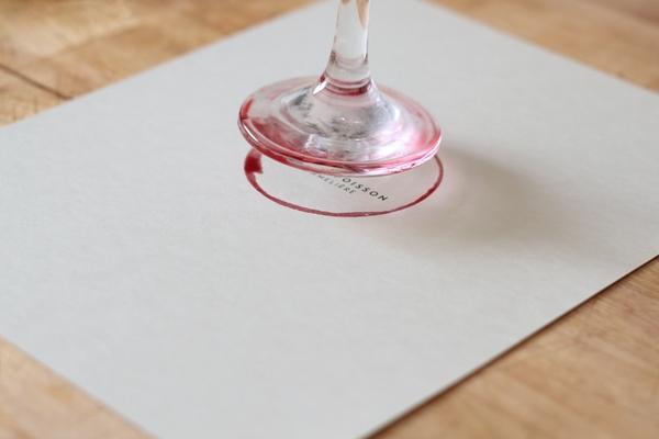 Студия графического b50дизайна Caserne. Креативные визитки для сомелье