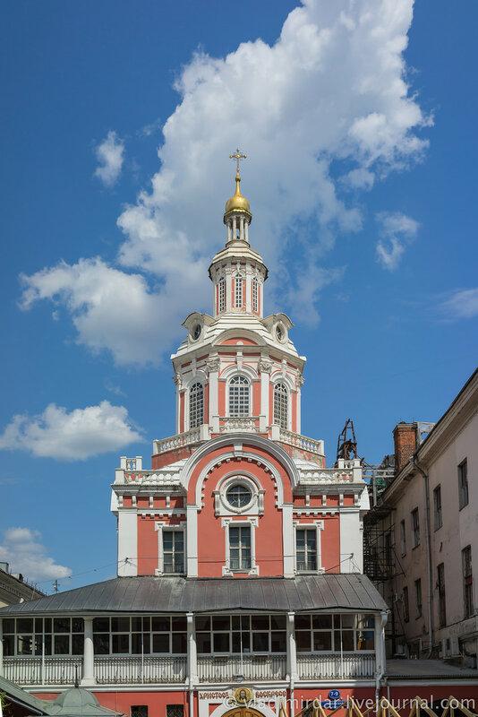 Спасский собор. Заиконоспасский монастырь. Москва.