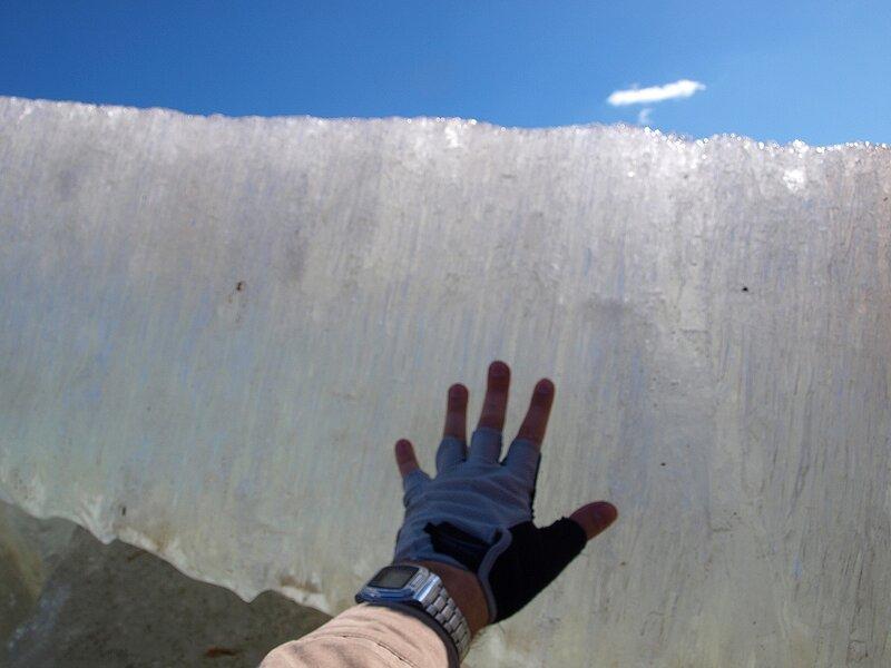 Вот какой толстый лёд P4201998