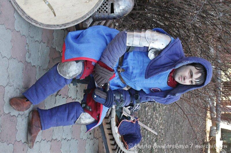 Кубок ректора по историческому фехтованию, Саратов, СГТУ им.Гагарина, 14 декабря 2012 года