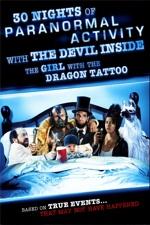 30 ночей паранормального явления с одержимой девушкой с татуировкой дракона / 30 Nights of Paranormal Activity with the Devil Inside the Girl with the Dragon Tattoo (2013/HDRip)