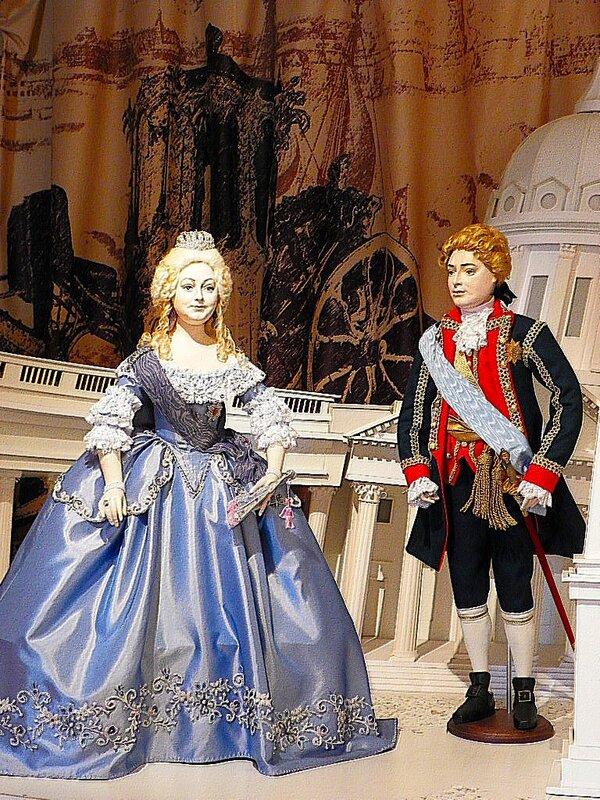 Императрица Елизавета Петровна и Алексей Разумовский