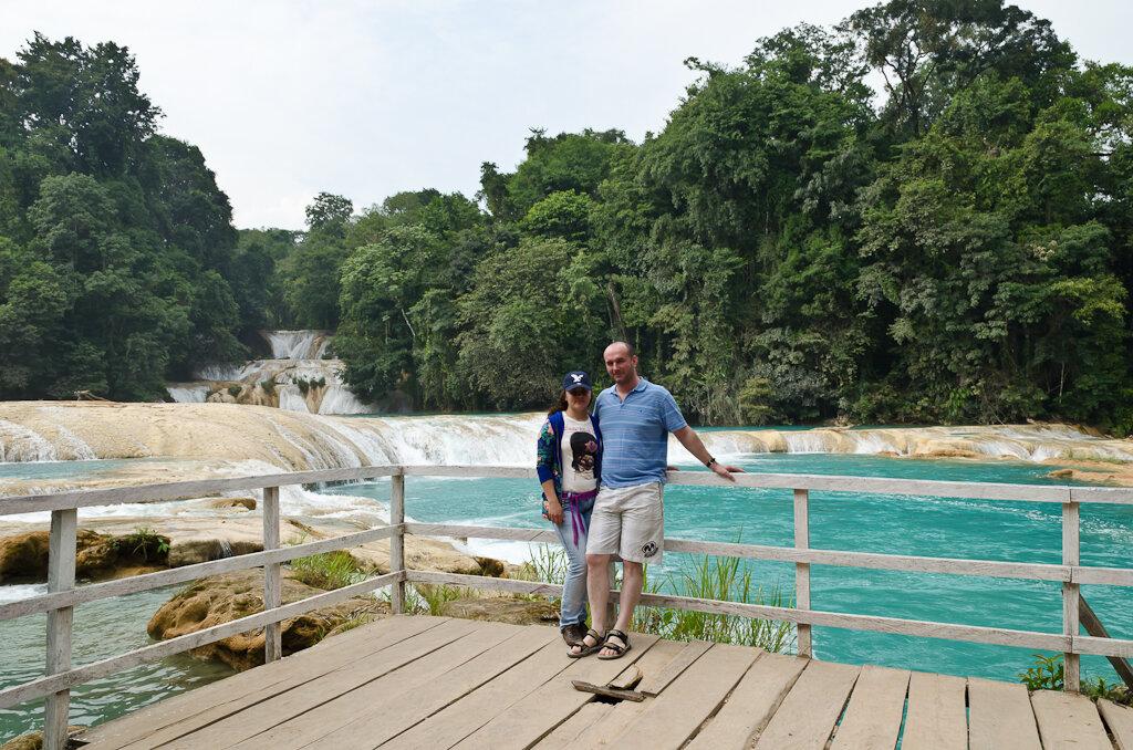 Водопад Агуа Асуль в Мексике. Пример того, как не стоит снимать достопримечательности в стиле