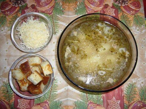 Чешский чесночный суп чеснечка.