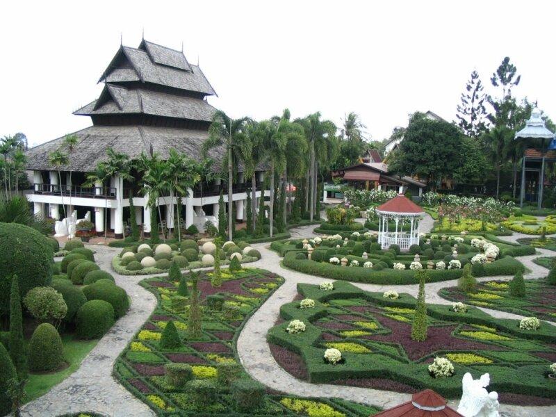 Таиланд Nong Nooch Tropical Garden