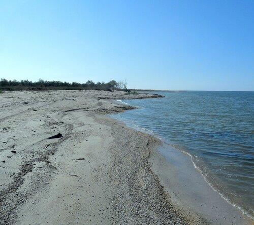 Октябрь, на Азовском побережье
