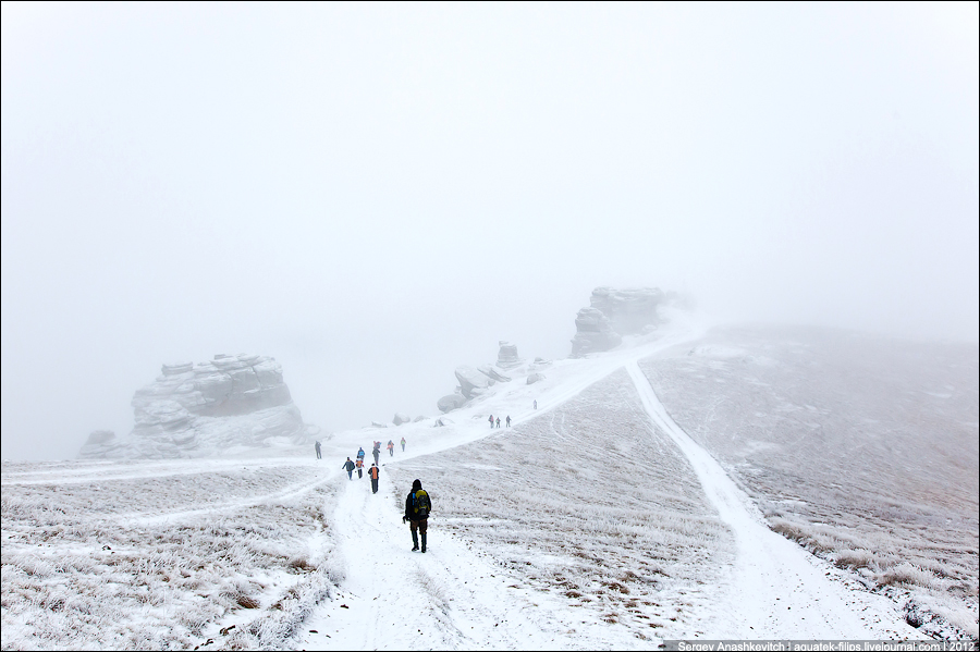 Поход за первым снегом на Демерджи