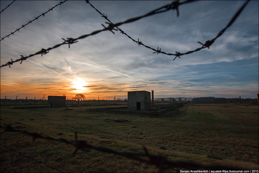 Закат в Освенциме