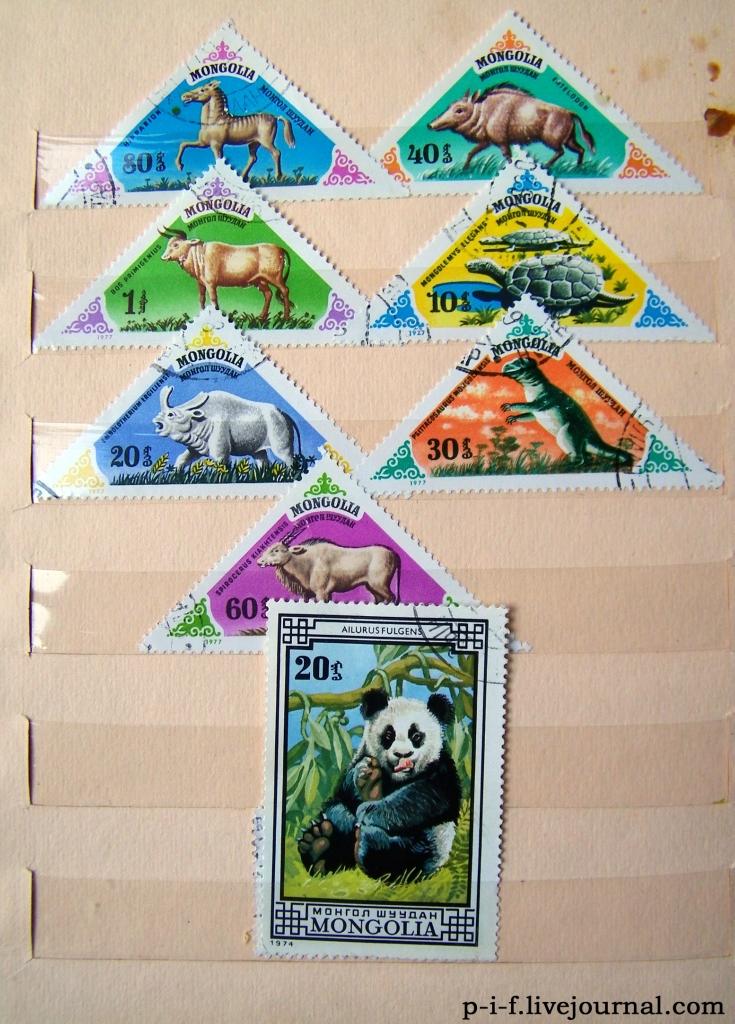 Домашняя коллекция марок.