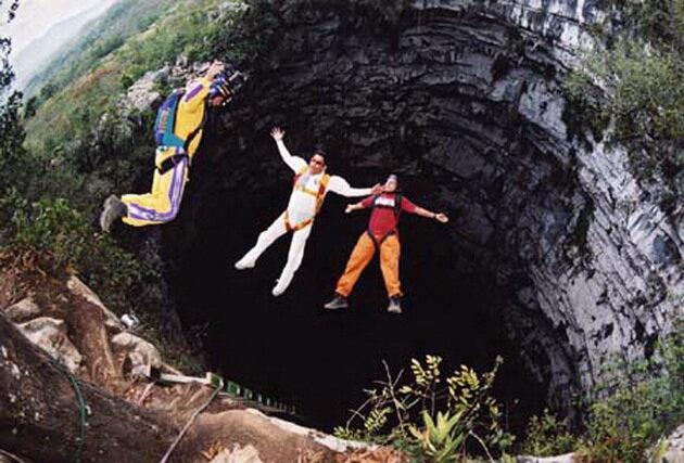 Пещера Ласточек. Мексика