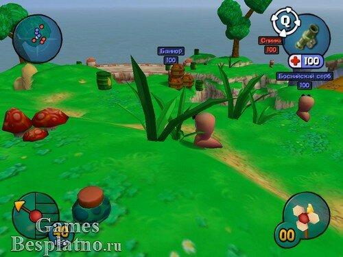 Червячки 3D / Worms 3D