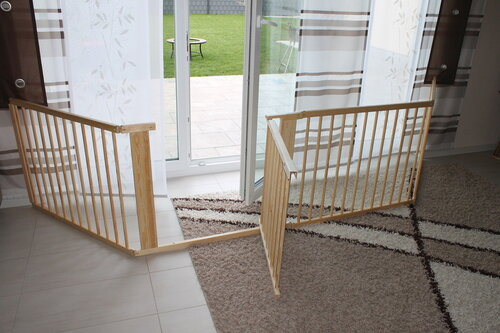 absperrgitter laufstall treppenschutzgitter t rschutzgitter treppengitter gitter ebay. Black Bedroom Furniture Sets. Home Design Ideas