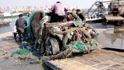 Улов китайских рыбаков -- Porsche Cayenne