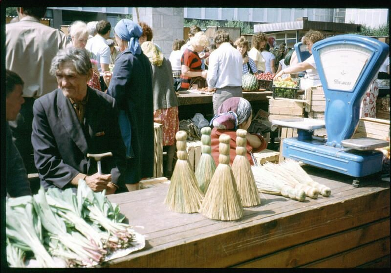 134. На иркутском рынке