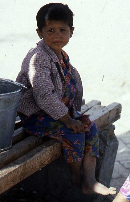Ребенок в Ташкенте