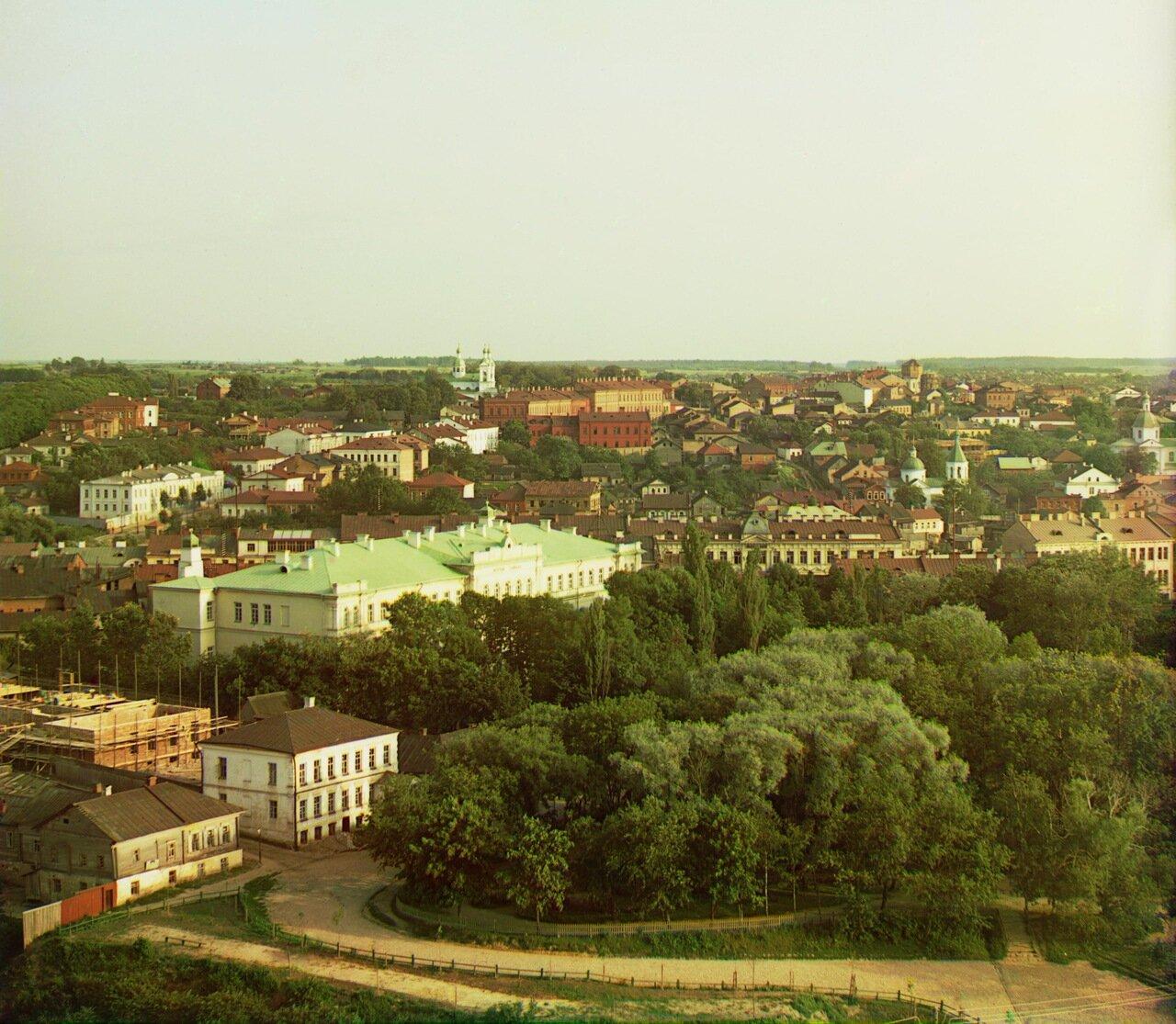 Витебск. Общий вид южной части города. 1912