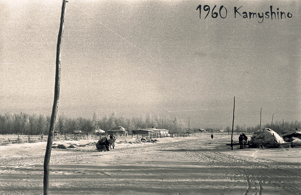 12. 1960. Село Камышино. Прииртышье