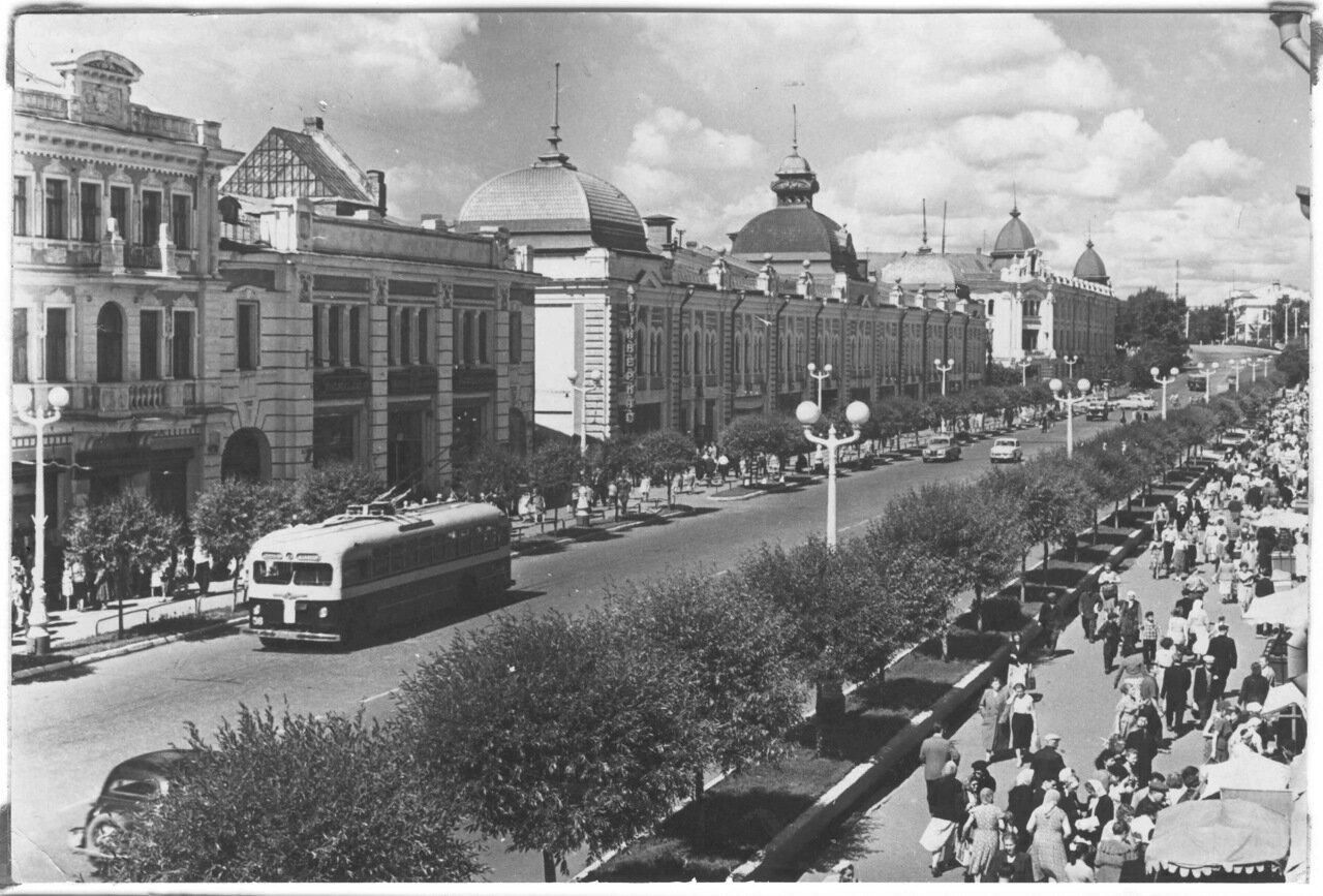 Омск. улица Ленина.