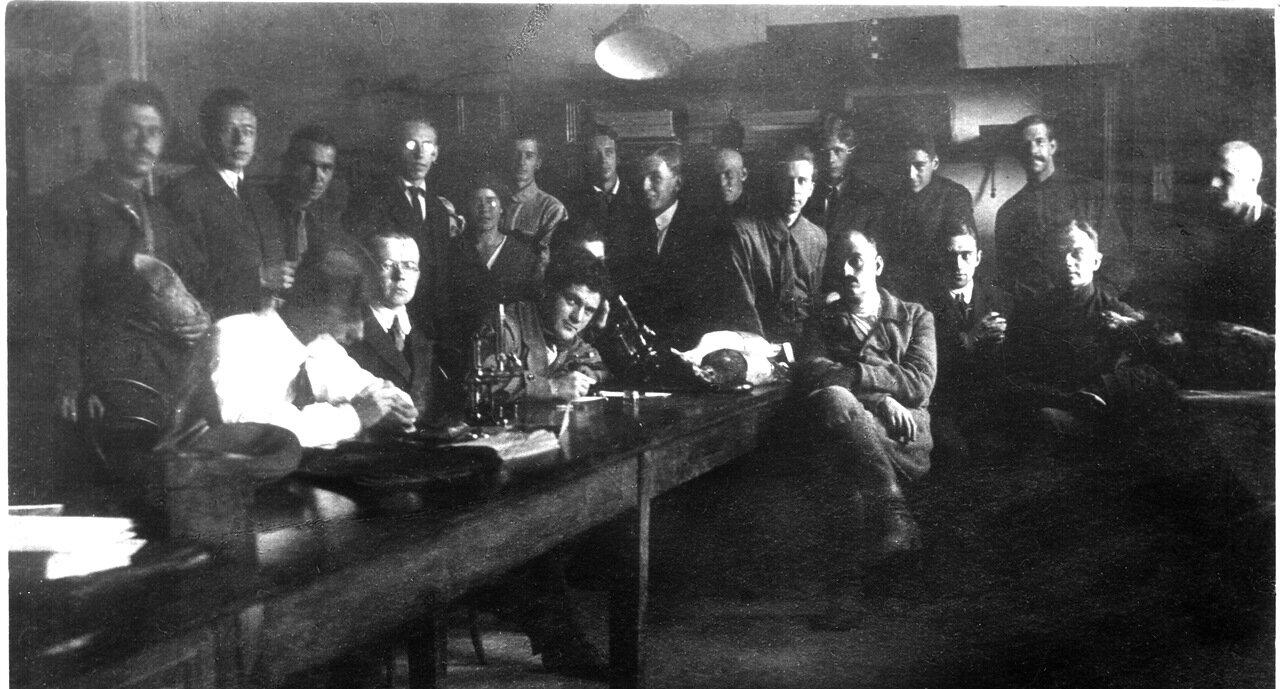 1924 год. Зоологический музей, 25-я комната
