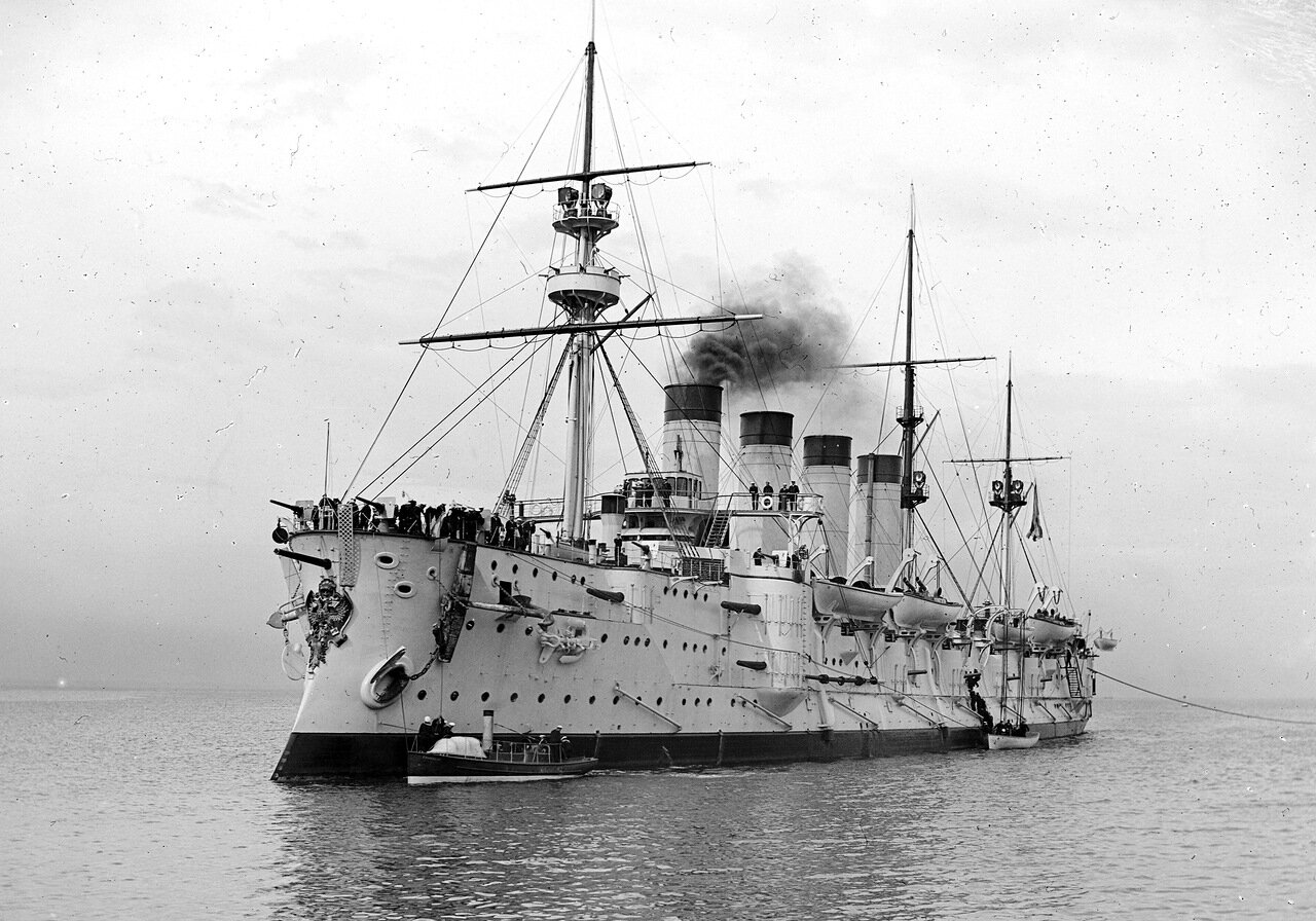 Броненосный крейсер Громобой. 1901.