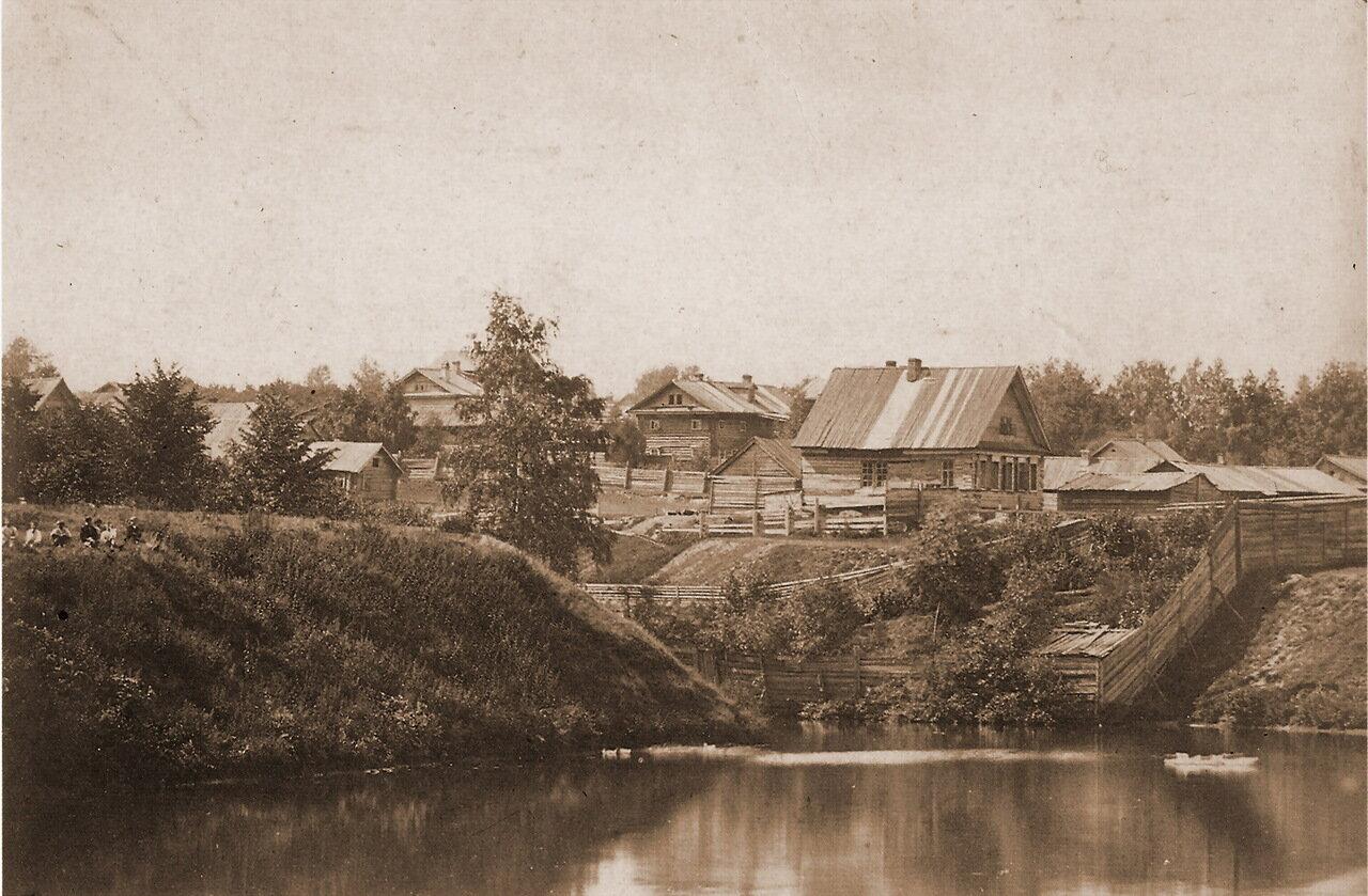 Звездинский овраг с одноимённым прудом. Фото А. О. Карелина, 1870-е гг.