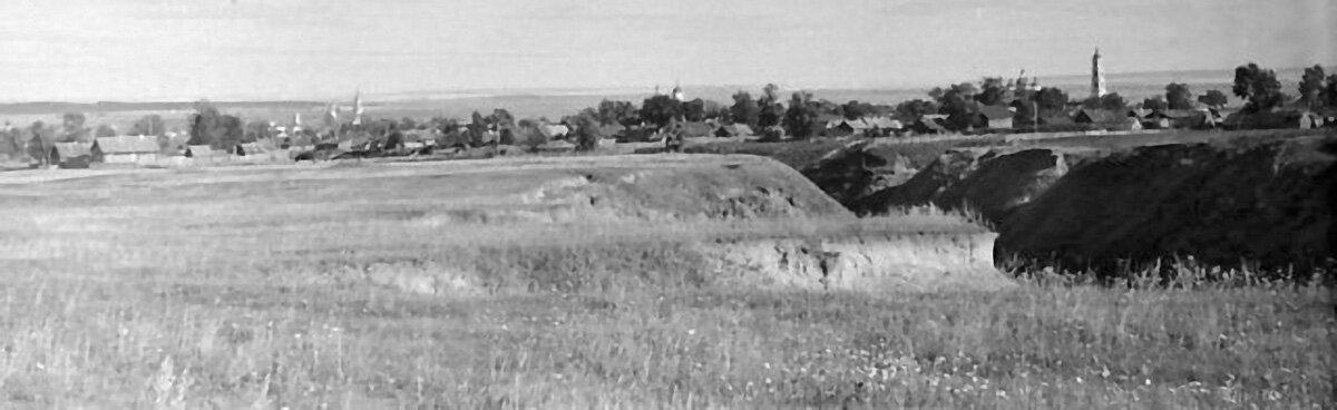 Панорама Елабуги со стороны района «10 га».