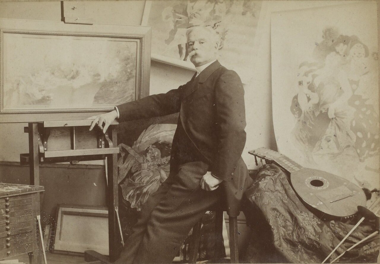 Жюль Шере (1836-1932)