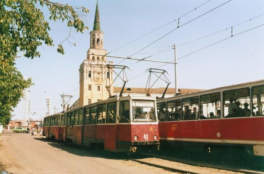 Площадь Труда. 1992