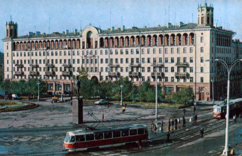 Площадь Маяковского, 1972