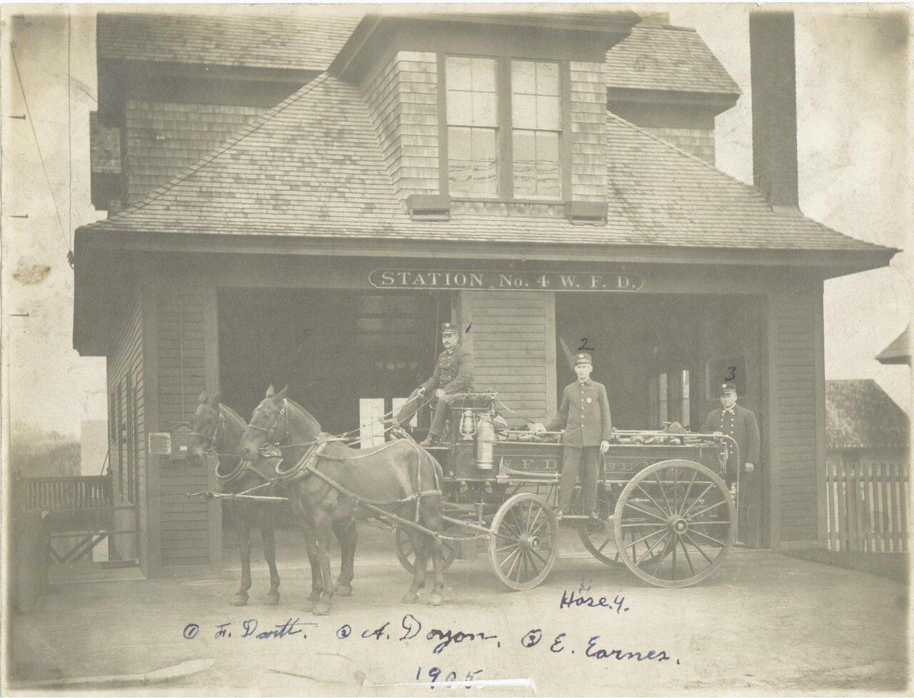 1905. Пожарный пост №4