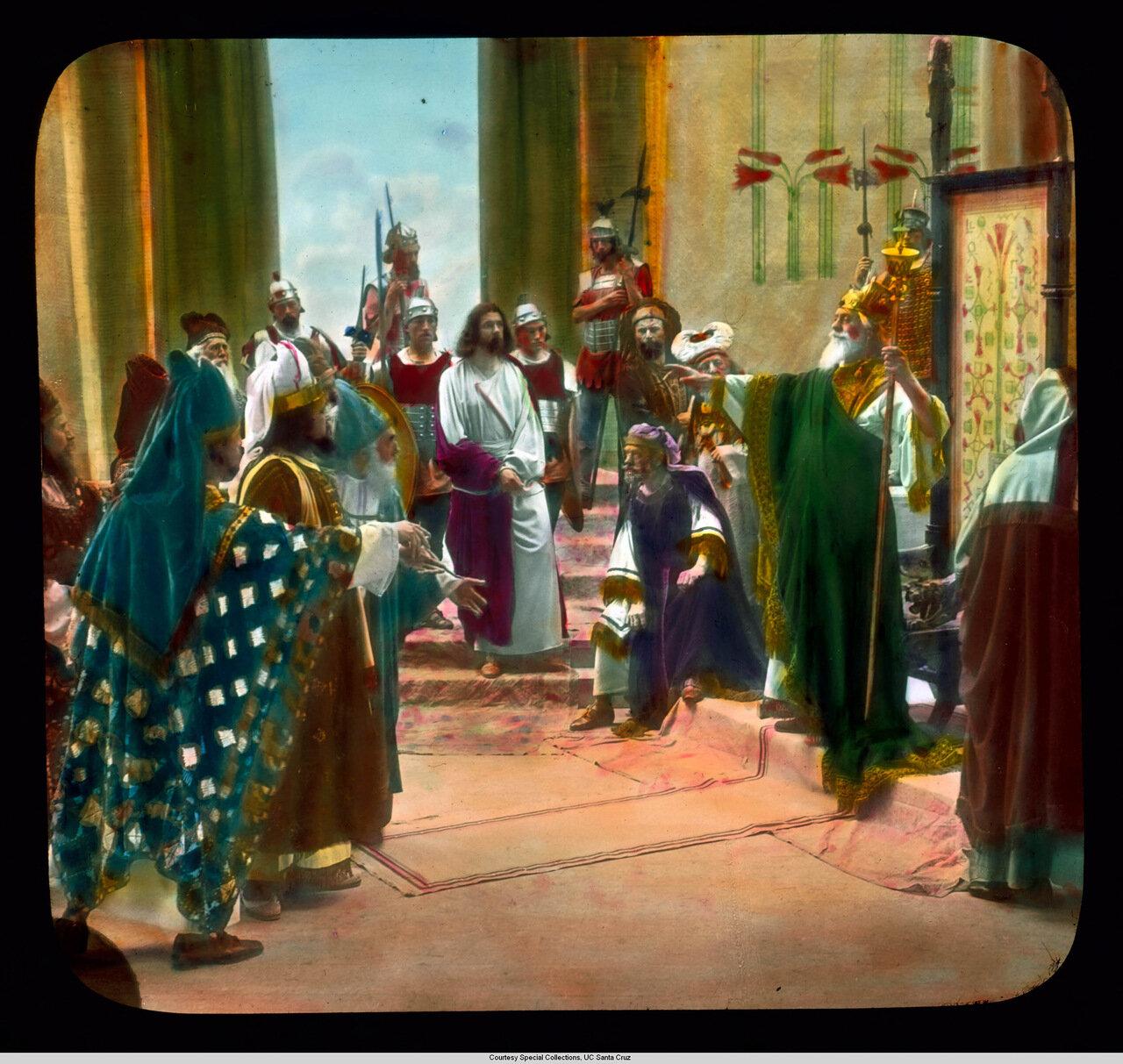 Обераммергау. Страсти Христовы. Иисус перед Иродом