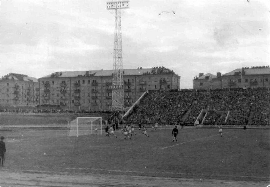 Лето 1964. Большой футбол в Рыбинске