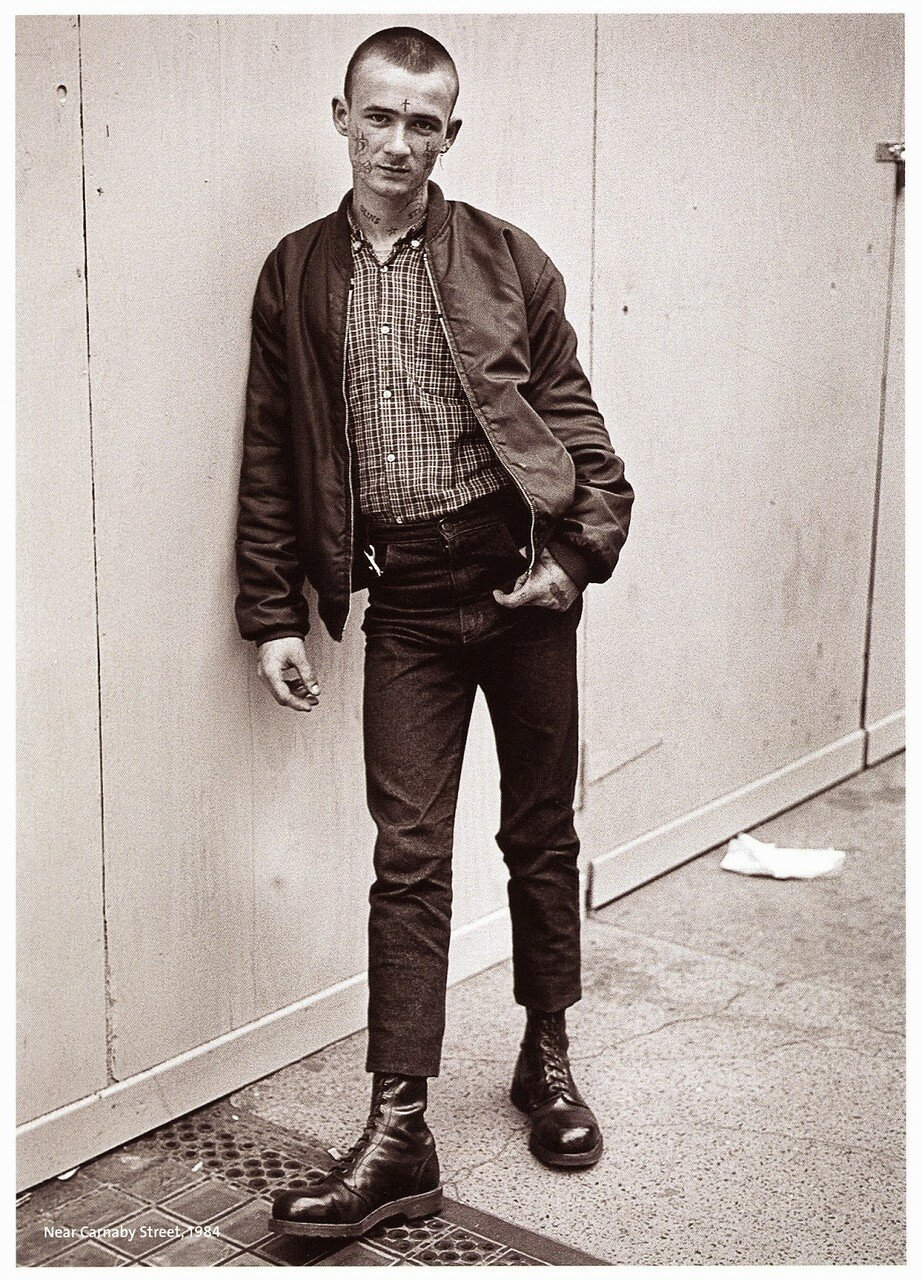 1984. Возле Карнаби-стрит