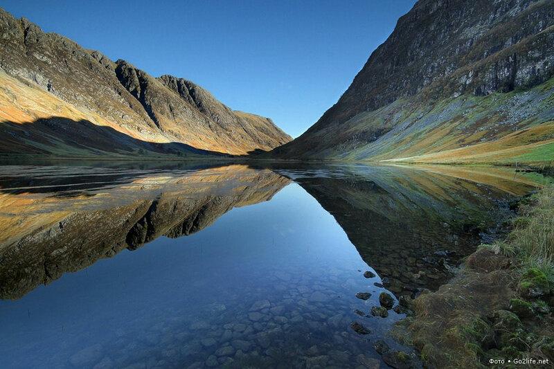 Go2life.net • Шотландия. Озеро Лох-Каол