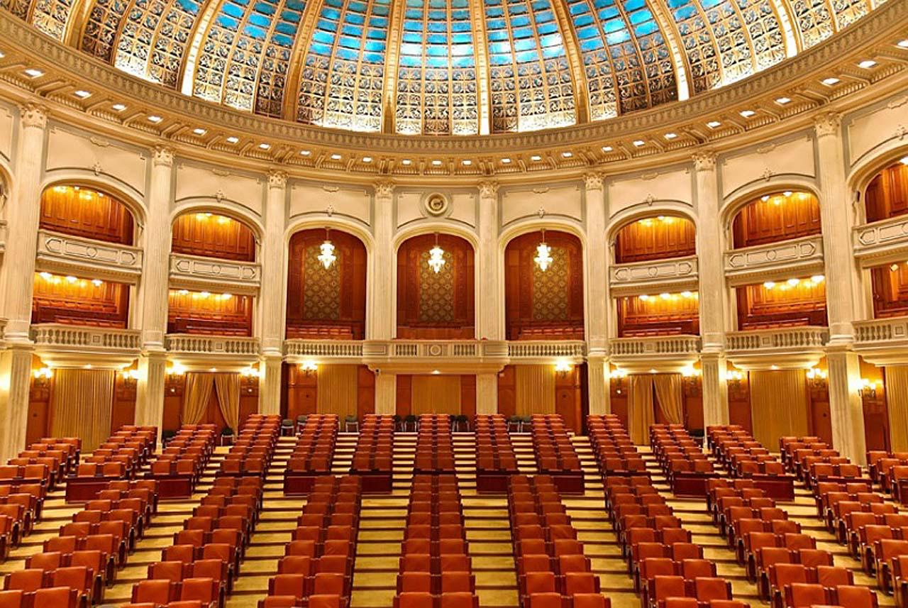 Дворец румынского парламента, Бухарест(2)