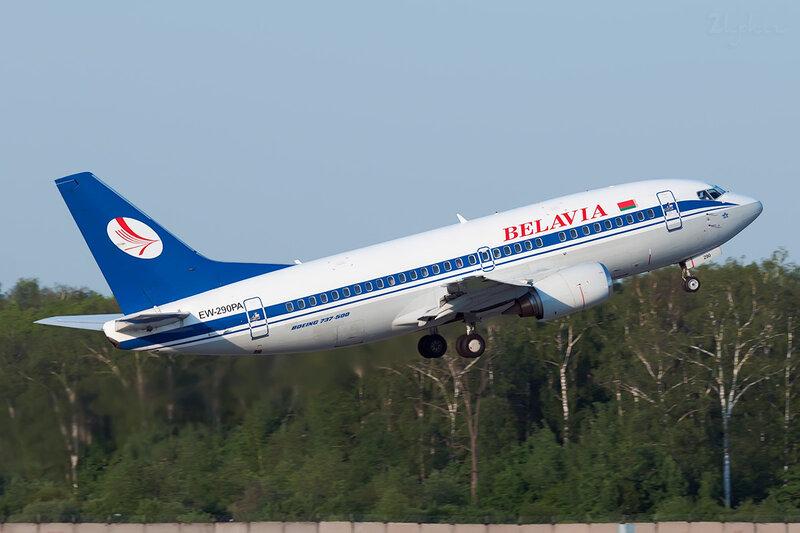 Boeing 737-5Q8 (EW-290PA) Belavia DSC0643