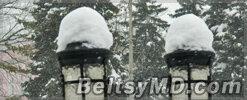 И снова снегопад — стихия вновь парализует Бельцы