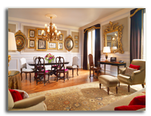 Италия. Флоренция. The St. Regis Florence. Presidential Da Vinci Suite - Living Room
