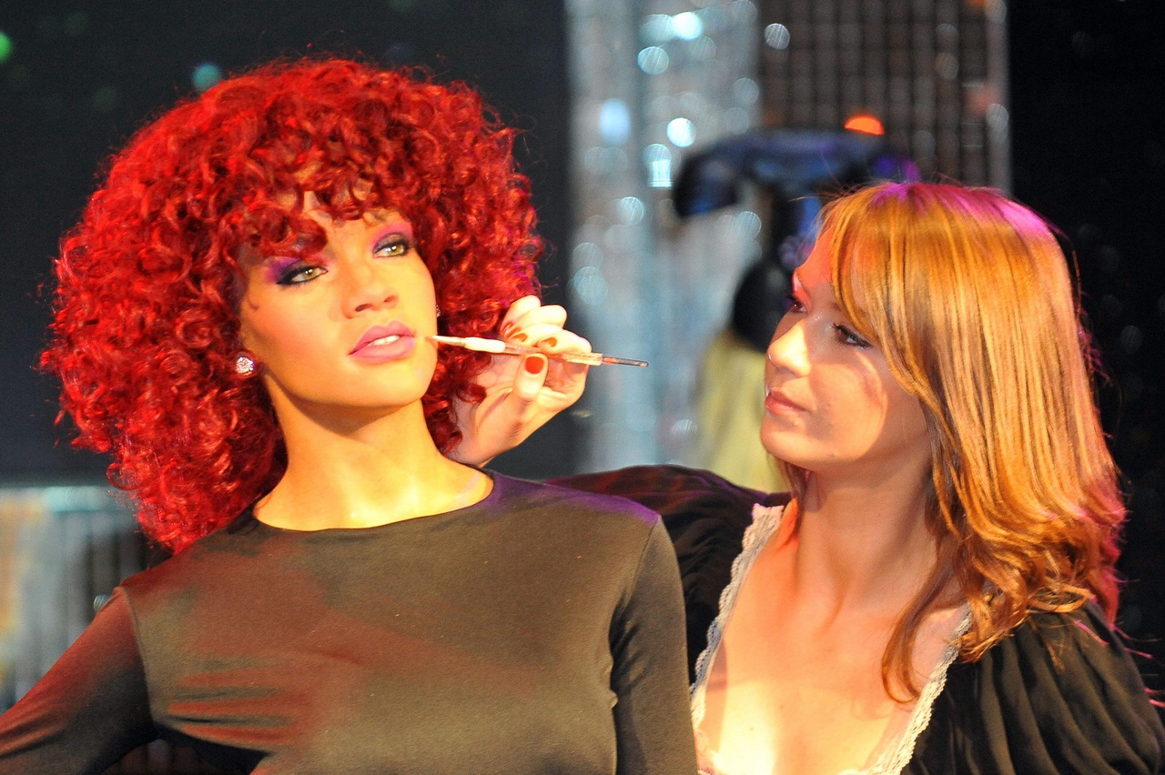 Rihanna wax figure - London