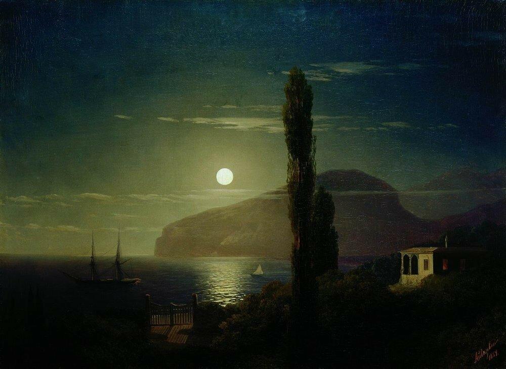 Лунная ночь в Крыму. 1Лунная ночь в Крыму. 1859859.jpg