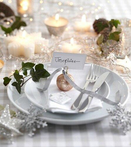 Украшаем Новогодний стол