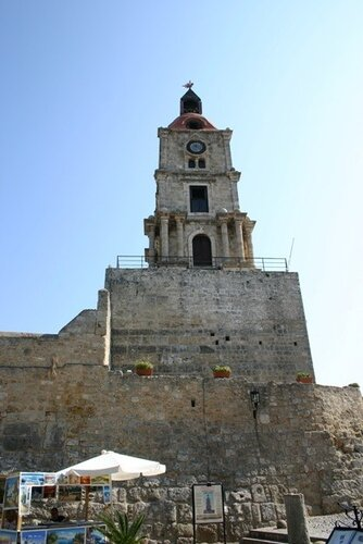 Часовая башня, Родос