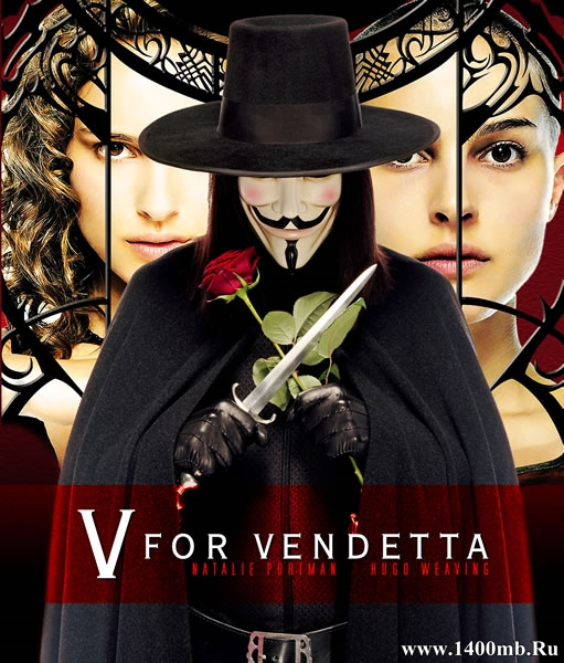 «V» значит Вендетта / V for Vendetta (2006/HDRip/BDRip)